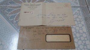 2 bì thư ngân hàng Franco chinoise