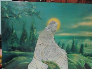 Tranh sơn mài thiên chúa giao lưu