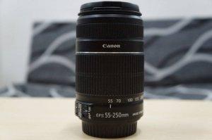 Bộ Canon 60D + lens tele 55-250 II Fullbox