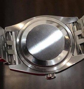"""Rolex 116234 mặt """"Lamã lớn"""" """"yếm bóng, chạy chữ vành trong"""" zin Thuỵ Sỹ 100% mới 99% size 36mm"""