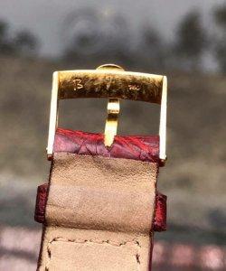 Concord vỏ vàng đúc 18K zin Thuỵ Sỹ size 25x30x37mm