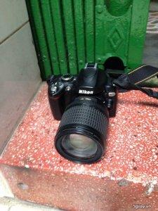 Nikon D60 lens 18-135 đang dùng còn mới 96%