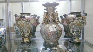 E có bộ 3 bình Nhật hàng xưa nay đem giao lưu với các bác.