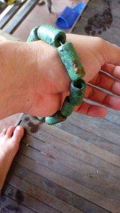 Vòng đeo tay. Đồ đồng Đông Sơn 2500 tuổi