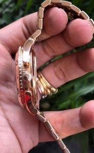 """Breguet """"GMT-Chrono"""" dây vỏ vàng Hồng 18K automatic zin Breguet Thuỵ Sỹ"""