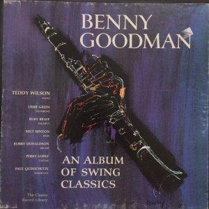 Lp: Đĩa Bộ 3Lp Hòa Tấu Kèn Tuyệt Đỉnh - Benny Goodman – An Album Of Swing Classics