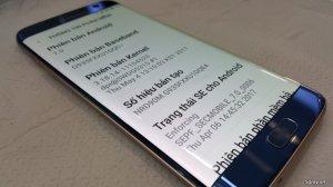 S7 Edge 2 sim hàng cty màu xanh như mới
