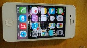Iphone 4s quoc tế 16g màu trắng.