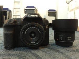 Cần bán Canon 24 2.8 STM và 85 1.8 LBM, likenew