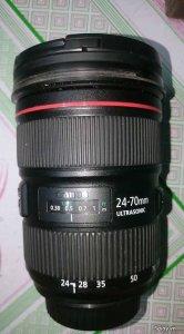 Len Canon 24-70 f2.8L mark II