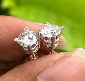 Cặp kim cương thiên nhiên 5,3ly và 5,4ly