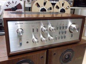 Ampli Pioneer A - 8800X đẹp long lanh cành đào ruột gan 7 màu