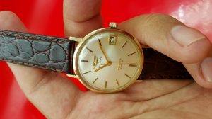 Longines Armiral vỏ vàng khối 14k xưa chính hãng