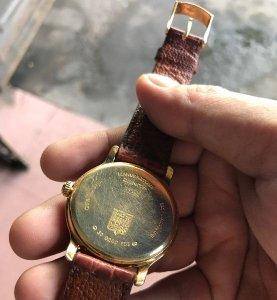 Zenith Elite chronometer vàng đúc 18k