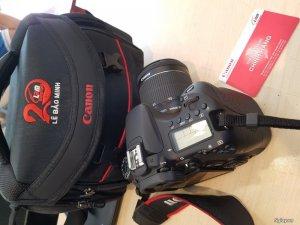Canon 70D Wifi cảm ứng + KIT 18-55 IS STM chínhãng LBM 99% BH 2018