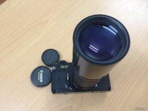 Bán lens MF Tele Canon FDn 300 5.6 ngàm Canon FD