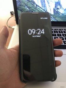 Samsung S7E 2 sim hàng VN màu đen