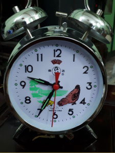 đồng hồ con gà chạy giây cót