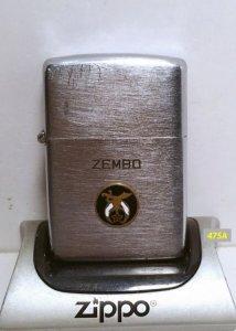 Z.475A_ba chấu vỏ đồng ruột niken 48_49 -Emblem chủ đề quân đội