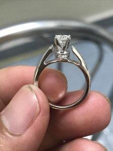 Nhẫn nữ ngoại 14 k