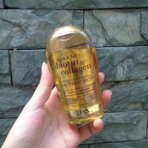 Dầu dưỡng tóc Biotin & Collagen weightless healing Oil Treatment 100ml