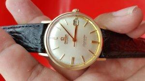 Omega seamaster deville vỏ bọc vàng 14k xưa chính hãng