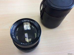Cần bán lens Vivitar Carenar 135 mm f2.8 ngàm M42 (1tr4)