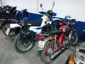 Cào cào Yamaha DT175