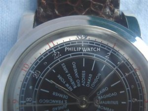 PHILIP WATCH Automatic GMT Hàng Độc