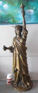 Tượng nữ thần tự do to 100cm nặng khoảng 9kg rất đẹp
