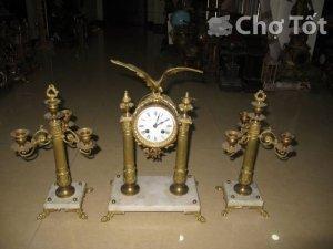 Bộ đồng hồ Pháp cổ