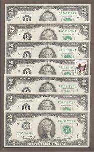 Bộ $2 - 1976 - Số Tiến 3 Số # 123 - - - - - -> 789