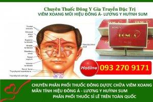Bài thuốc hay Đông y gia truyền hiệu Đông Á chữa viêm xoang hiệu quả nhất