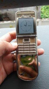 Nokia 8800 SIROCCO GOLD. Nguyên zin. Bao thợ thầy. Giá 6500k