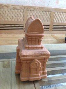 Mô hình tháp Chàm gốm Chăm pa