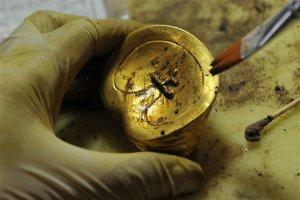 Phát hiện hơn 370 cổ vật bằng vàng trong mộ cổ 2.000 năm tuổi ở thành phố Nam Xương