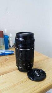 Lens 75-300 III Chính Hãng Canon mới 95%