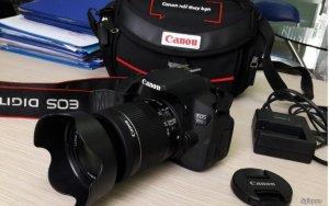 Canon 700D, Lens 18-55 STM, chính hãng. New 98%