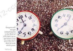 Hai đồng hồ Liên Xô : Nobea Xanh Đỏ