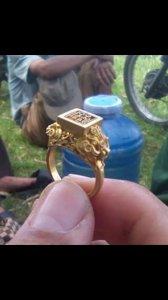 Nhẫn cổ thế kỷ 18 thời vua Minh Mạng