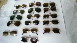 Bán các loại kính cổ mạ vàng, bọc vàng.