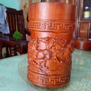 Hộp chè gỗ hương