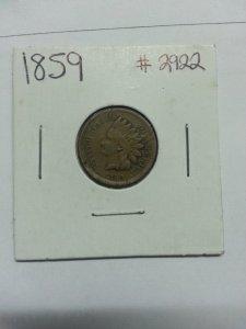 Xu 1 cent Indian Head