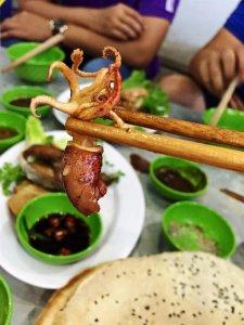 Quán lẩu cá đuối Hoàng Minh, món ngon Vũng Tàu
