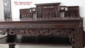 bộ ghế tràng kỷ huế gỗ mật.JPG
