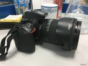 Cần bán Nikon D5500 & Lens Sigma 17-50mm