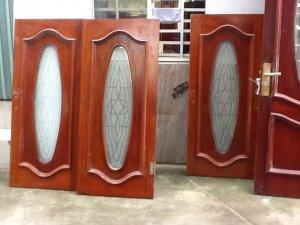 5 bộ cửa gỗ gõ đỏ