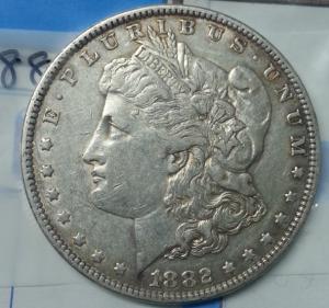 Xu 1 dollar Mỹ 1882