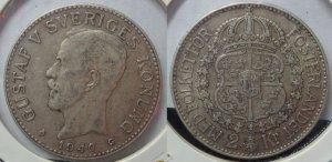 Xu bạc Thụy Điển 1940 & Mỹ 1967