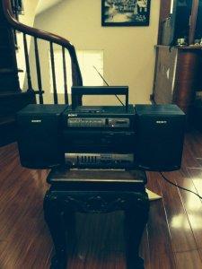 Radio cassette sony cfs-1065s
